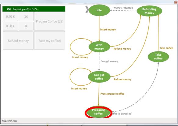 WPF State machine commands screenshot.