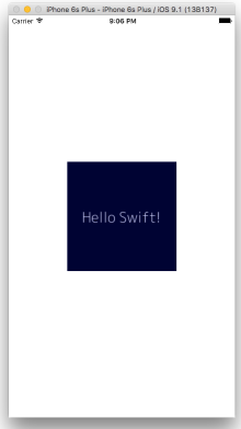 Hello Swift
